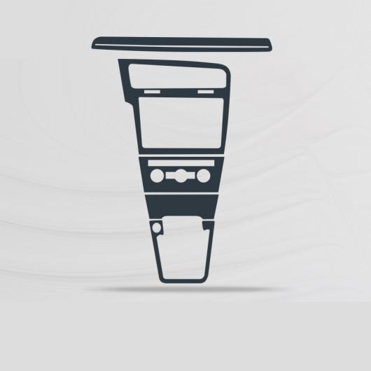 AL TPU インテリア セントラル コントロール ギア 傷つき防止 保護 フィルム 適用: フォルクスワーゲン ゴルフ 2018 2019 MK7 MK 7 VW タイプ 2 AL-FF-5141