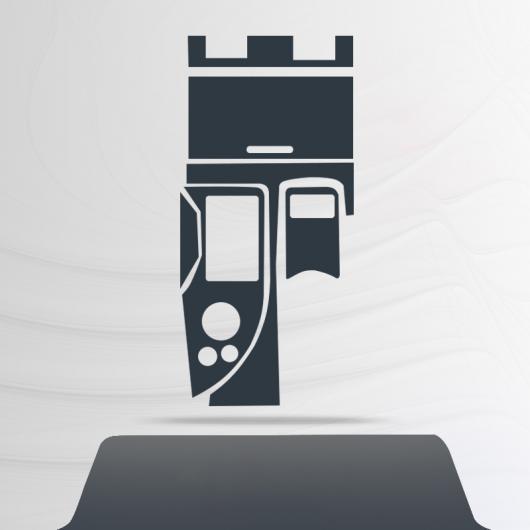 AL TPU セントラル コントロール ギア ダッシュボード フィルム 保護 ステッカー 適用: レクサス GS 2012 2013 2014 2015 2016 タイプ 1 AL-FF-5189