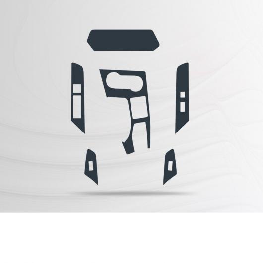 AL TPU GPS ナビゲーション スクリーン ダッシュボード 傷つき防止 フィルム 保護 ステッカー 適用: レクサス UX2019 2020タイプ 2 AL-FF-5190