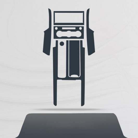 AL TPU セントラル コントロール ギア ダッシュボード フィルム 保護 ステッカー 適用: ランド ローバー ディスカバリー 5 2018 2019 2020 タイプ 1 AL-FF-5195