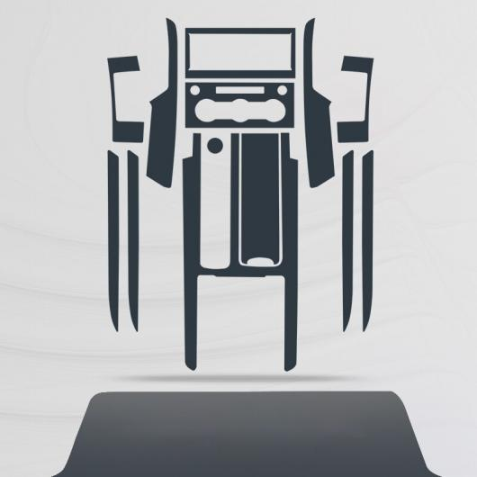AL TPU セントラル コントロール ギア ダッシュボード フィルム 保護 ステッカー 適用: ランド ローバー ディスカバリー 5 2018 2019 2020 タイプ 2 AL-FF-5195