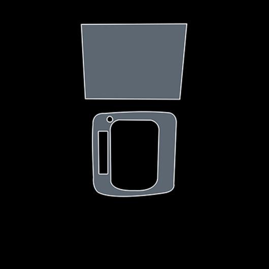 AL TPU ギア ダッシュボード GPS ナビゲーション スクリーン フィルム ステッカー 適用: スバル アウトバック レガシィ 2015-2020 2016 タイプ 2 AL-FF-5206