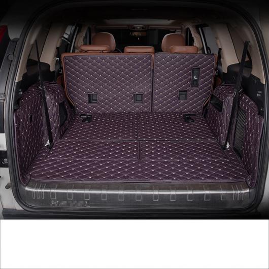 AL 適用: 長城汽車 ハヴァル H9 レザー トランク マット カーゴ ライナー 2015 2016 ブラック ブラック ワイヤー~ワイン レッド 5 シート・7 シート AL-FF-5168