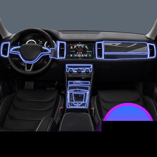 AL TPU インテリア ギア フィルム セントラル コントロール ダッシュボード ステッカー 適用: シュコダ タイプ 1・コディアック GT タイプ 1 AL-FF-5219