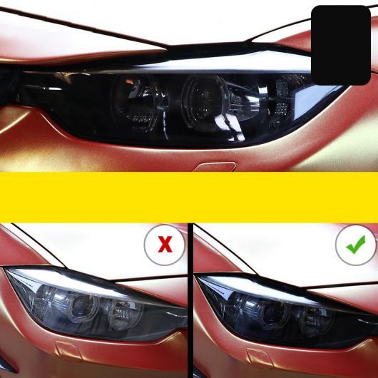 AL TPU トランスペアレント ブラック ヘッドライト 保護 フィルム 適用: BMW X5 X6 2014 2015 2016 2017 2018 2014-2018 X5 X6・2019-2020 X5 X6 AL-FF-5267