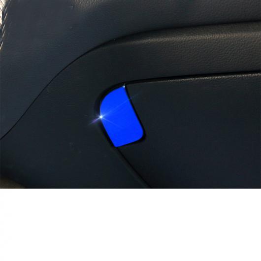 AL 助手席 ストレージ ボタン パネル 適用: 起亜 K3 起亜 セラトー 2012 2013 2014 2015 2016 2017 インテリア フォルテ ブルー~光沢 シルバー AL-FF-5277