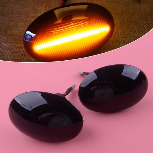 AL ダイナミック サイド マーカー リピーター インジケーター LED ランプ ライト 適用: BMW ミニ クーパー R56 R57 R58 R59 2007-2009 2010 2011 2012 2013 AL-FF-6584