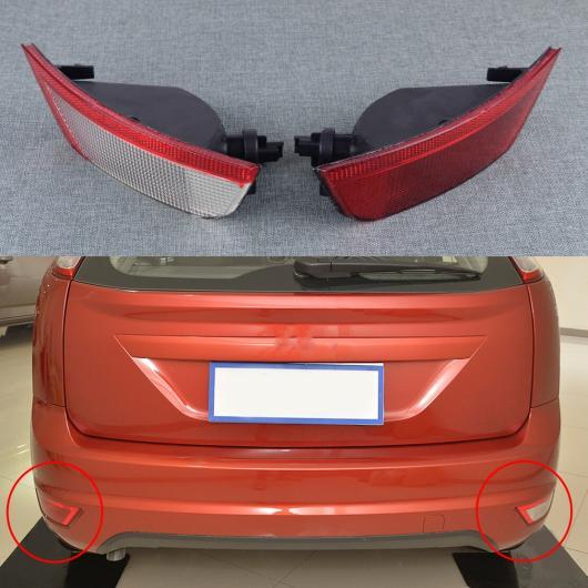 AL 左&右 リア テール フォグライト バンパー リフレクター ランプ ライト 適用: フォード フォーカス 2008 2009 2010 2011 2012 AL-FF-6718