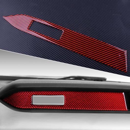 AL カーボンファイバー インテリア センター コンソール パネル ダッシュボード 装飾 カバー トリム 適用: フォード マスタング 2015 2016 2017 2018 2019 AL-FF-6836