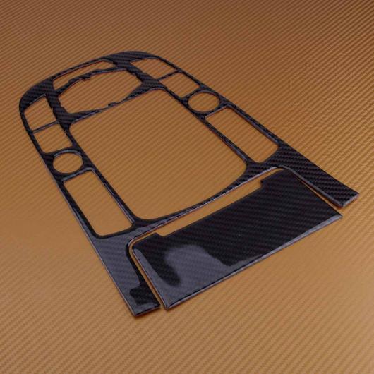 AL インナー カーボンファイバー ストリップ コントロール センター ギア シフト パネル カバー トリム フレーム モールディング 適用: アウディ A4 A5 AL-FF-6893