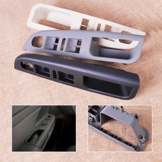 AL マスター パワー ウインドウ スイッチ コントロール パネル ベゼル トリム カバー 1K4868049C 1K4 868 049C 適用: VW ジェッタ MK5 2005 2006 2007 2008 2009 ブラック~ベージュ AL-FF-7014