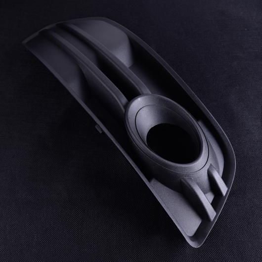 AL ブラック プラスチック 右側 フロント バンパー 吹き出し口 グリル フォグライト グリル カバー 8R0807682A01C 適用: アウディ Q5 2009 2010 2011 2012 AL-FF-7187