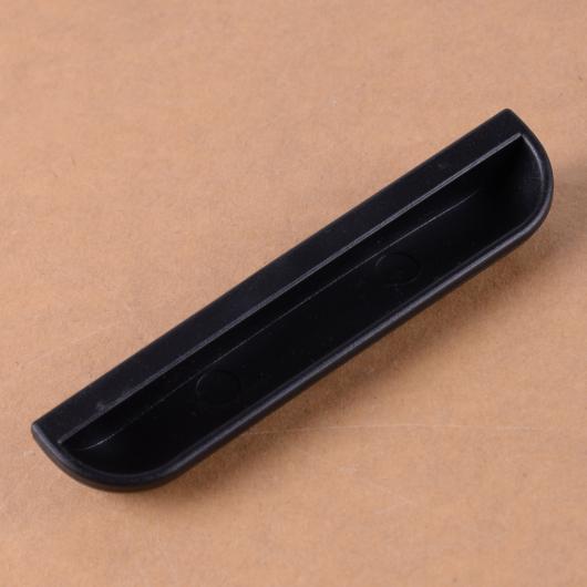 AL ブラック ABS リア トランク ウインドウ 補助 ハンドクラスプ ハンドル ステッカー 適用: ベンツ スマート 451 2008 2009 2010 2011 2012 2013 2014 AL-FF-7196