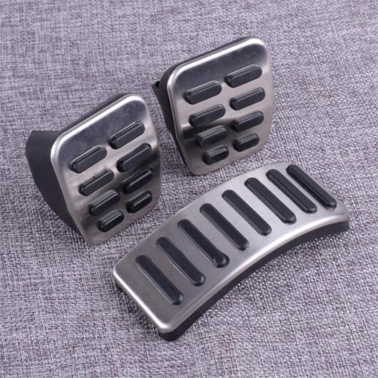 AL クラッチ ガス ブレーキ フット ペダル カバー インテリア アクセサリー 適用: VW フォルクスワーゲン ボーラ ゴルフ MK3 MK4 ヴェント ルポ ポロ AL-FF-7256