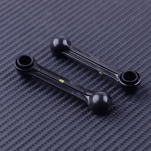AL 2ピース プラスチック インテークマニホールド アクチュエータ リンク アーム ブラック 2 077198327A 適用: アウディ A8 A6 VW フォルクスワーゲン トゥアレグ フェートン 2004 AL-FF-7259