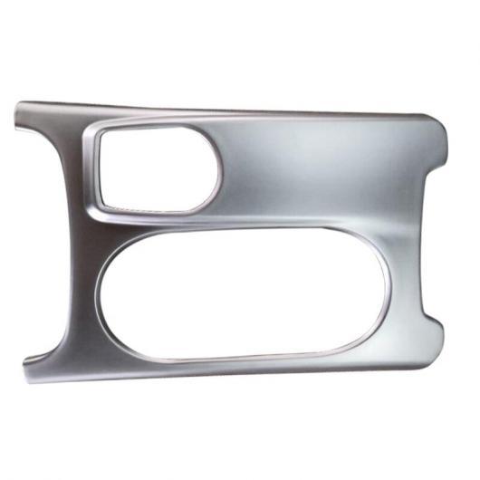 AL ABS クローム カップホルダー カバー フレーム トリム 適用: メルセデス ベンツ A GLA CLA クラス C117 W117 2012 2013 2014 2015 2016 2017 AL-FF-7333