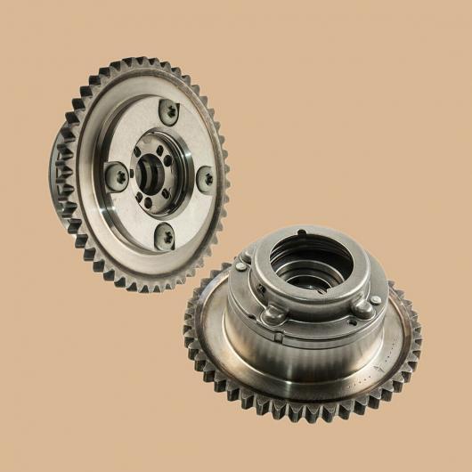 AL 1ペア シルバー 金属 エキゾースト&インテーク カムシャフト アジャスター アクチュエータ ギア 適用: メルセデス・ベンツ W204 C250 R172 SLK250 AL-FF-7452