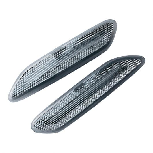 AL 2ピース ダイナミック LED フェンダー サイド マーカー ライト ランプ 適用: ミニ クーパー ペースマン カントリーマン R60 R61 AL-FF-7539