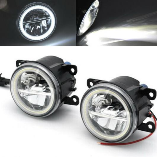 AL 2ピース LED フォグライト ランプ 適用: フォード C-MAX フュージョン エクスプローラー トランジット フィエスタ MK6/7 フォーカス AL-FF-7542