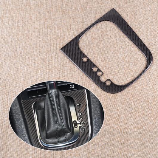 AL 左ハンドル エポキシ ハンド ドライブ カーボンファイバー ギア シフト ボックス パネル トリム カバー 装飾 ステッカー 適用: VW ゴルフ 6 Rライン GTI 6 AL-FF-7598