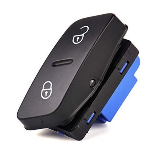 AL ブラック プラスチック 運転席 サイド セントラル ドア ロック スイッチ ボタン 1K0962125 適用: VW ゴルフ MK5 AL-FF-8077