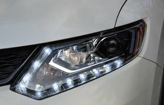 AL ヘッドライト 適用: 日産 エクストレイル 2014-2016 LED ヘッドランプ デイタイムランニングライト DRL バイキセノン HID 4300K~8000K 35W・55W AL-HH-0007