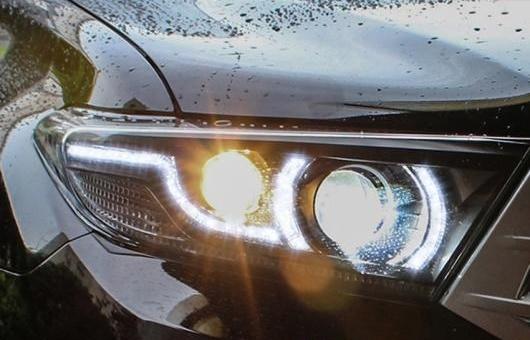 AL ヘッドライト 適用: トヨタ ハイランダー 2013 LED ヘッドランプ デイタイムランニングライト DRL バイキセノン HID 4300K~8000K 35W・55W AL-HH-0021