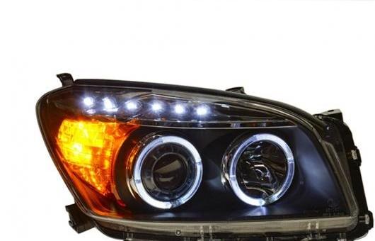AL ヘッドライト 適用: トヨタ RAV4 2009-2012 LED ヘッドランプ デイタイムランニングライト DRL バイキセノン HID 4300K~8000K 35W・55W AL-HH-0029