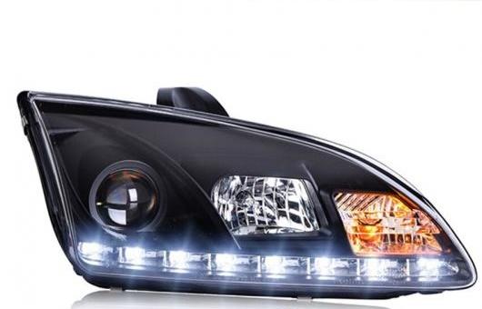 AL ヘッドライト 適用: フォード/FORD フォーカス 2005-2008 LED ヘッドランプ デイタイムランニングライト DRL バイキセノン HID 4300K~8000K 35W・55W AL-HH-0040