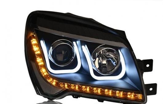 AL ヘッドライト 適用: 起亜 SPORTAGE07-13 LED スポーテージ ヘッドランプ デイタイムランニングライト DRL バイキセノン HID 4300K~8000K 35W・55W AL-HH-0041