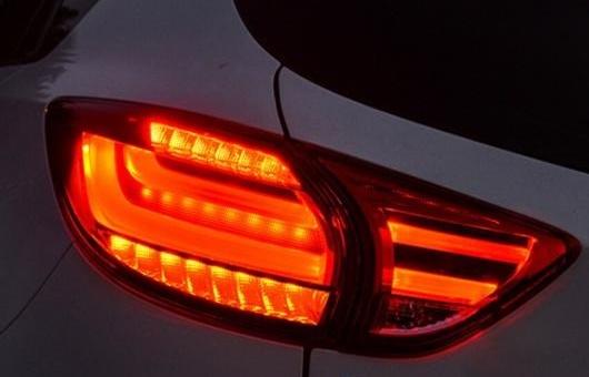 AL テール ランプ 適用: マツダ CX-5 ライト 2013-2015 LED リア DRL + ブレーキ パーク シグナル ストップ レッド AL-HH-0057