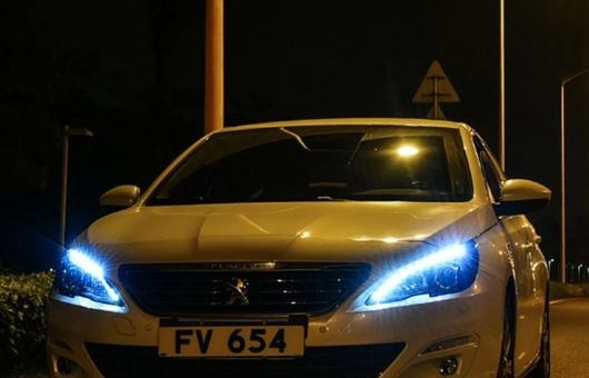 AL ヘッドライト 適用: プジョー/PEUGEOT 408 2014-2016 LED ヘッドランプ デイタイムランニングライト DRL バイキセノン HID 4300K~8000K 35W・55W AL-HH-0089