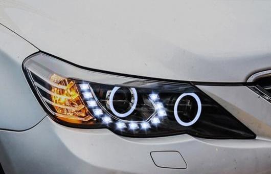 AL ヘッドライト 適用: トヨタ レイツ/マークX 2010-2013 LED ヘッドランプ デイタイムランニングライト DRL バイキセノン HID 4300K~8000K 35W・55W AL-HH-0101