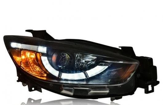 AL ヘッドライト 適用: マツダ CX-5 2013-2015 LED ヘッドランプ デイタイムランニングライト DRL バイキセノン HID 4300K~8000K 35W・55W AL-HH-0102