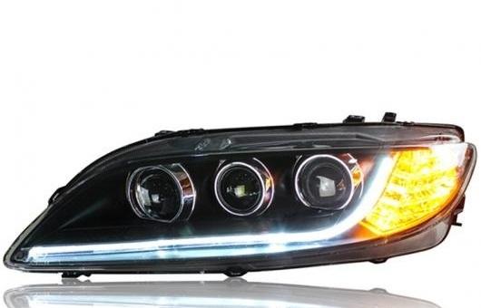AL ヘッドライト 適用: マツダ 6 2003-2014 LED ヘッドランプ デイタイムランニングライト DRL バイキセノン HID 4300K~8000K 35W・55W AL-HH-0107