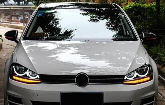 AL ヘッドライト 適用: VW フォルクスワーゲン/VOLKSWAGEN ゴルフ 7 2015-2016 LED ヘッドランプ デイタイムランニングライト DRL バイキセノン HID 4300K~8000K 35W・55W AL-HH-0131