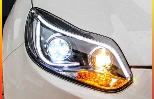 AL ヘッドライト 適用: フォード/FORD フォーカス LED 2012-2014 ヘッドランプ デイタイムランニングライト DRL バイキセノン HID 4300K~8000K 35W・55W AL-HH-0134