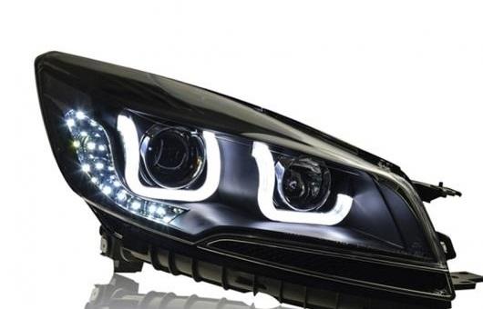 AL ヘッドライト 適用: フォード/FORD クーガ 2013-2015 LED ヘッドランプ デイタイムランニングライト DRL バイキセノン HID 4300K~8000K 35W・55W AL-HH-0148