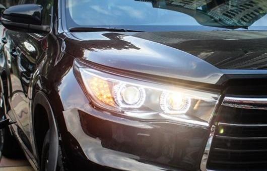 AL ヘッドライト 適用: トヨタ ハイランダー 2015 LED ヘッドランプ デイタイムランニングライト DRL バイキセノン HID 4300K~8000K 35W・55W AL-HH-0151
