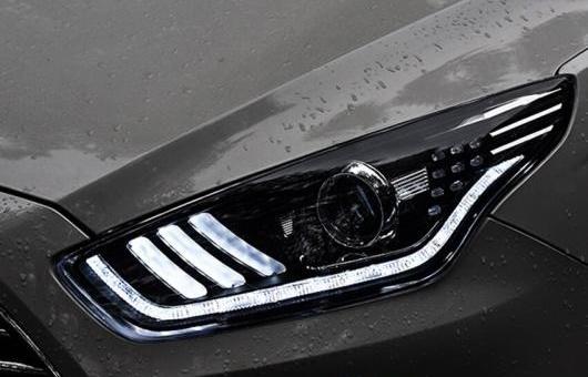 AL 適用: フォード/FORD エスコート ヘッドライト 2015 LED DRL キセノン バルブ DOUBLE-LIGHTS レンズ エクステリア ライト 4300K~8000K 35W・55W AL-HH-0153