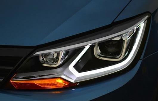 AL ヘッドライト 適用: VW フォルクスワーゲン/VOLKSWAGEN ラマンド 2015 LED ヘッドランプ デイタイムランニングライト DRL バイキセノン HID AL-HH-0172