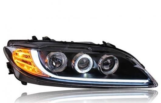 AL ヘッドライト 適用: マツダ 6 2003-2015 LED ヘッドランプ デイタイムランニングライト DRL バイキセノン HID 4300K~8000K 35W・55W AL-HH-0180