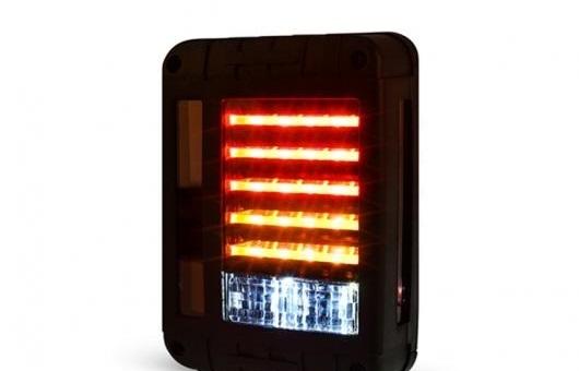 AL テール ライト 適用: ジープ/JEEP ラングラー 96-15 ランプ LED リア DRL + ブレーキ パーク シグナル ストップ レッド AL-HH-0181