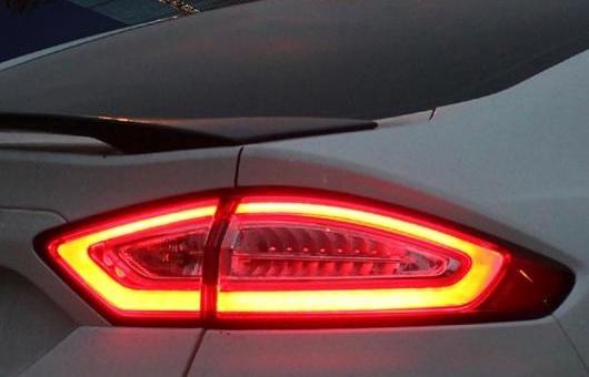 AL テール ランプ 適用: フォード/FORD モンデオ ライト 2013 LED リア DRL + ブレーキ パーク シグナル ストップ レッド AL-HH-0189