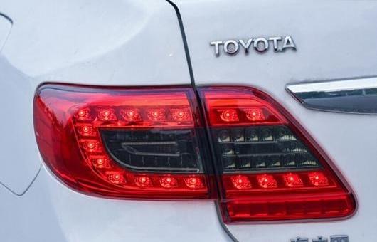 AL テール ランプ 適用: トヨタ カローラ ライト 2011-2013 LED リア DRL + ブレーキ パーク シグナル レッド AL-HH-0205