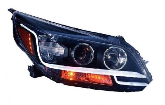 AL ヘッドランプ 適用: シボレー/CHEVROLET マリブ ヘッドライト 2012-2014 LED DRL デイタイムランニングライト バイキセノン HID 4300K~8000K 35W・55W AL-HH-0212