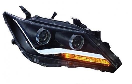 AL 適用: トヨタ カムリ ヘッドライト 2012-2013 LED ヘッドランプ DRL プロジェクター H7 HID バイキセノン レンズ 4300K~8000K 35W・55W AL-HH-0222