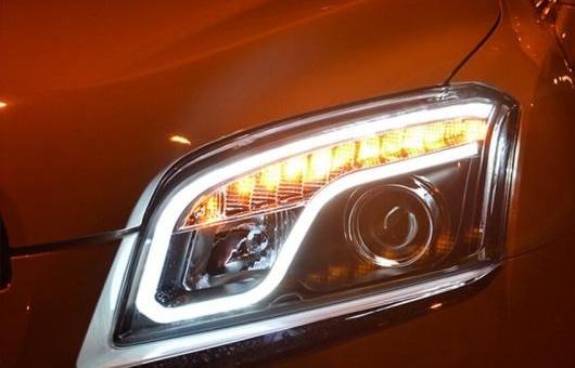 AL ヘッドライト 適用: シボレー/CHEVROLET トラック 2014 LED ヘッドランプ デイタイムランニングライト DRL バイキセノン HID 4300K~8000K 35W・55W AL-HH-0274