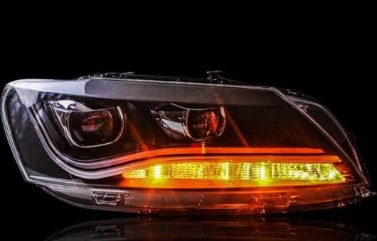 AL ヘッドライト 適用: VW フォルクスワーゲン/VOLKSWAGEN パサート 2011-2015 LED ヘッドランプ デイタイムランニングライト DRL バイキセノン HID 4300K~8000K 35W・55W AL-HH-0279
