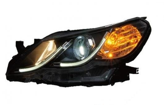AL 適用: トヨタ マーク X ヘッドライト 2012 LED ヘッドランプ DRL プロジェクター H7 HID バイキセノン レンズ 4300K~8000K 35W・55W AL-HH-0303